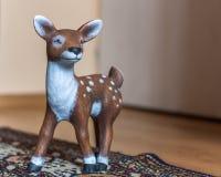 Ceramic roe deer Stock Photos