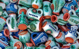 Ceramic in Romania Royalty Free Stock Images