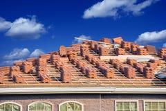 Ceramic Roof Slates Royalty Free Stock Photo