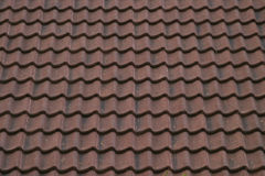 Ceramic Roof Texture. A texture image of a ceramic roof Stock Photos