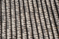 Ceramic on roof texture . Stock Photos