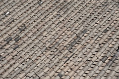 Ceramic on roof texture . Royalty Free Stock Photo