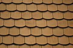 Ceramic roof tile texture. From a castle Royalty Free Stock Image