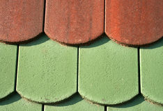 Ceramic roof tiles Royalty Free Stock Photography