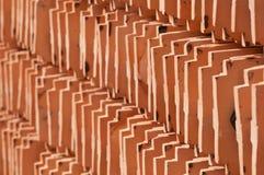 Ceramic roof tiles Royalty Free Stock Photo