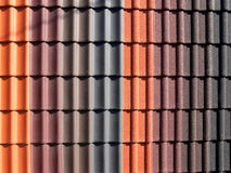 Ceramic roofing tiles texture Royalty Free Stock Photo