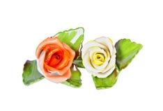 Ceramic roses Stock Photos