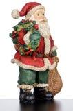 Ceramic Santa Claus Stock Images