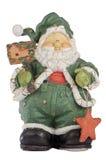 Ceramic Santa Claus Stock Photos