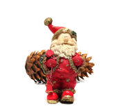 Ceramic Santa Claus Royalty Free Stock Photography