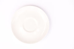 Ceramic saucer Royalty Free Stock Photo