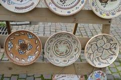 ceramic saucer Royalty Free Stock Photos