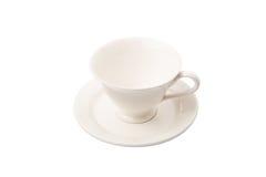 Ceramic Saucer And Teacup II Stock Photos