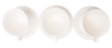 Ceramic Saucer And Teacup III Stock Photo