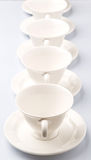 Ceramic Saucer And Teacup IV Royalty Free Stock Photography
