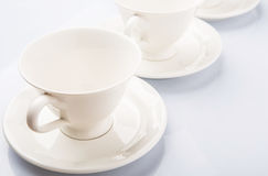 Ceramic Saucer And Teacup VI Royalty Free Stock Image