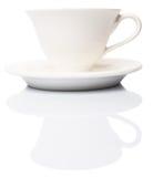 Ceramic Saucer And Teacup VII Stock Photo