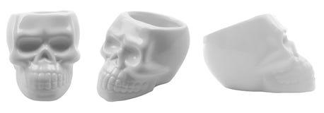 Ceramic scull Royalty Free Stock Photos