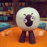 Ceramic sheep Stock Photo