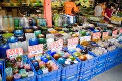 Ceramic shop at Chatuchak Weekend Market  Royalty Free Stock Photo