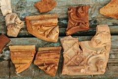 Ceramic smithereens Royalty Free Stock Photography