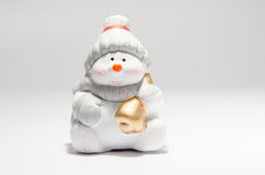 Ceramic Snowman Stock Photos