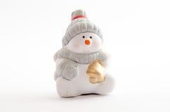 Ceramic Snowman Stock Photography