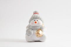 Ceramic Snowman Stock Images
