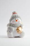 Ceramic Snowman Royalty Free Stock Image