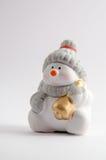 Ceramic Snowman Royalty Free Stock Photo
