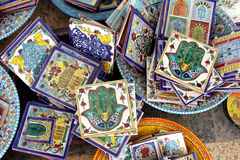 Ceramic souvenirs Royalty Free Stock Photography