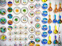 Ceramic souvenirs in Dominican Republic Royalty Free Stock Photography