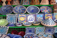 Ceramic souvenirs Stock Photography