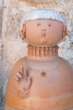 Ceramic statue. Royalty Free Stock Images