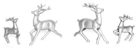 Ceramic statuettes reindeer. Stock Images