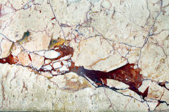 Ceramic Stone Wall Royalty Free Stock Image