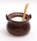Ceramic sugar bowl Stock Photo