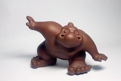 Ceramic sumo wrestler Stock Photography