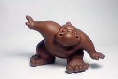 Ceramic sumo wrestler. The ceramic production sumo wrestlers works of art Stock Photography