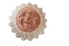 Ceramic sun Royalty Free Stock Image