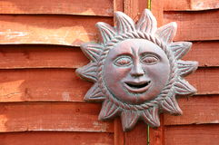 Ceramic Sun Stock Photo