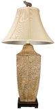 Ceramic Table Lamp Royalty Free Stock Images