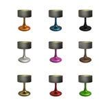 Ceramic Table Lamp Set Royalty Free Stock Photography