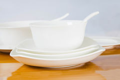 Ceramic tableware Royalty Free Stock Image