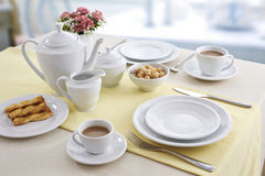 Ceramic tableware Royalty Free Stock Images
