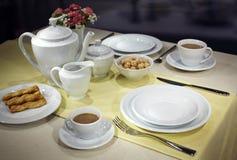 Ceramic tableware Stock Images
