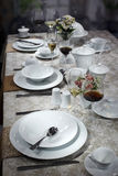 Ceramic tableware Royalty Free Stock Photography