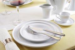 Ceramic tableware Royalty Free Stock Images