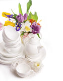 Ceramic tableware Royalty Free Stock Image