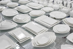 Ceramic tableware Royalty Free Stock Photo
